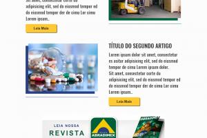 Portal de notícias ABRADIMEX e newsletter